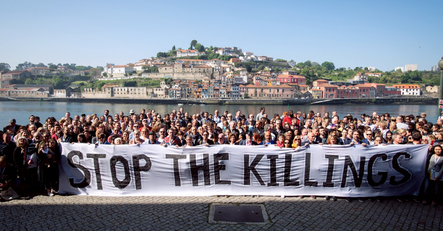 Stop the Killings campaigners