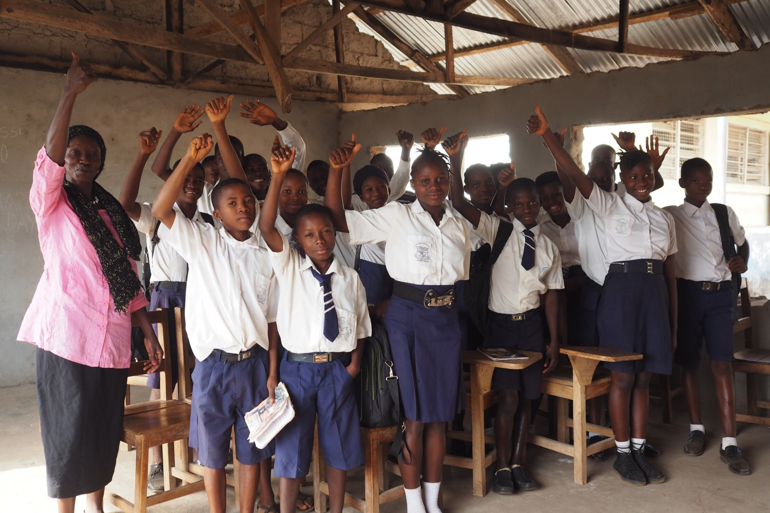 Margaret and the St Peter School Gender Club